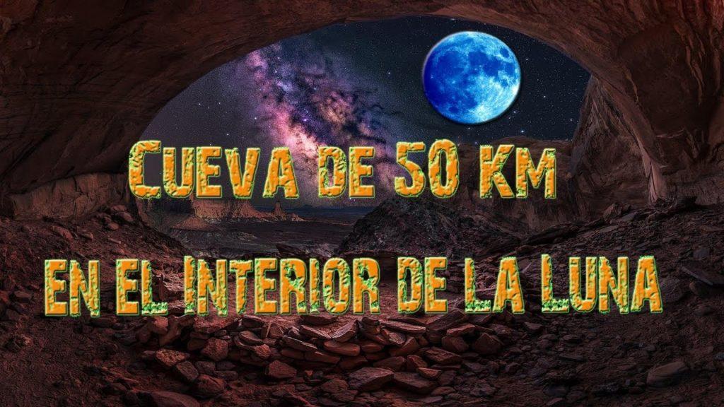 Descubren una Cueva de 50 Km en el Interior de la Luna