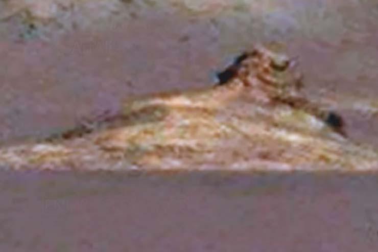 Descubren la Gran Esfinge de Marte