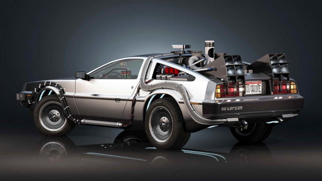 El nuevo Tesla Roadster puede 'volar' como el DeLorean