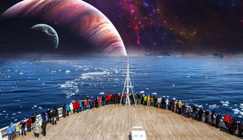 Los terraplanistas organizan un crucero
