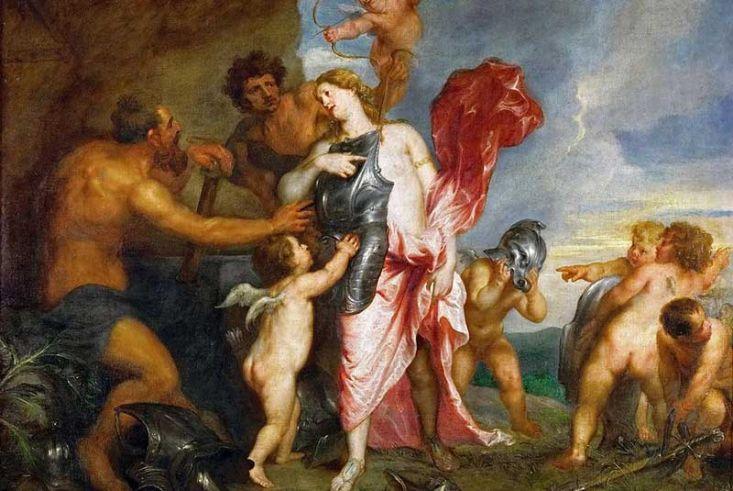 Hefesto: el dios griego de la metalurgia y el fuego