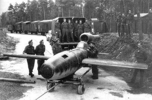 armas secretas de los Nazis