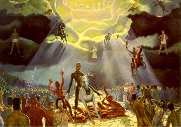 hay zombies en la biblia