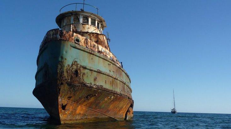 Barcos desaparecidos en el mar