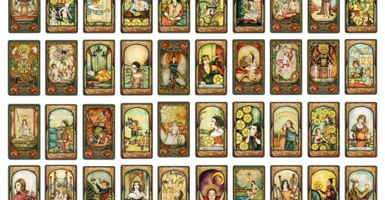 tipos de cartas del tarot