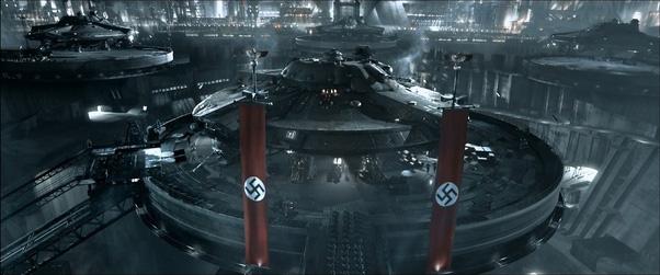 naves extraterrestres nazis