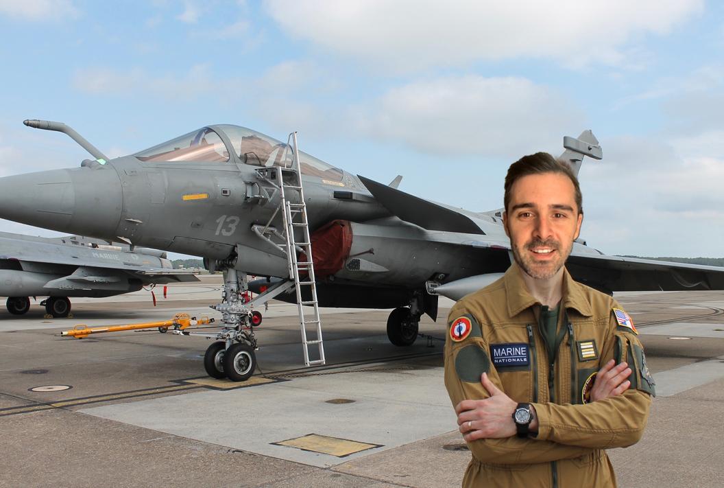 Quién es el piloto de combate Nicolás García Boccia